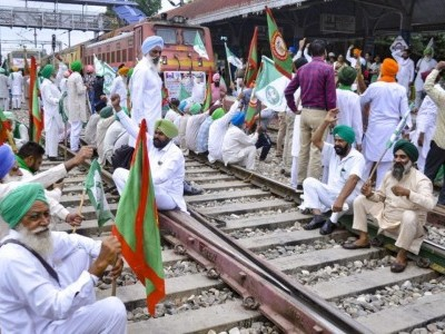 'Rail Roko' protest: Farmers block train traffic in Punjab, demand justice in Lakhimpur violence case