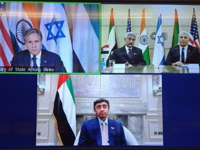 Jaishankar discusses ways to expand cooperation in West Asia with US, Israel and UAE