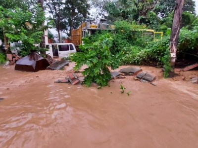 اتراکھنڈمیں بارش سے تباہی ،نینی تال کا بُرا حال۔مسلسل موسلا دھار بارش سےمعمولات زندگی درہم برہم