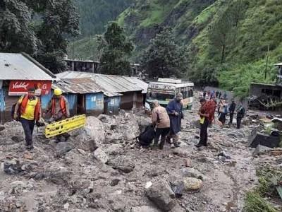 اتراکھنڈ میں بارش کا قہر ، زبردست تباہی، 40؍ ہلاک