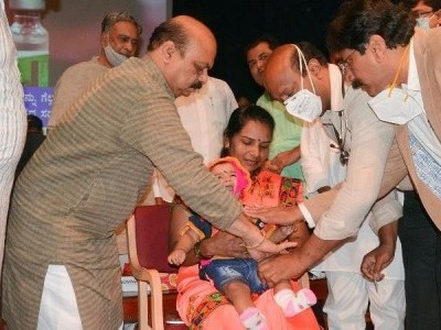 Karnataka aims to vaccinate 90 % eligible population against Covid by December: CM Basavaraj Bommai