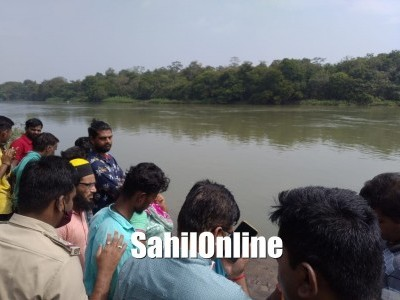 Dandeli: Search operation to trace boy attacked by crocodile continues