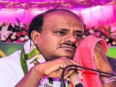 Kumaraswamy turns emotional, says never indulged in money politics