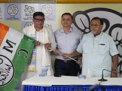 BJP MLA Krishna Kalyani joins TMC, fifth legislator to switch over
