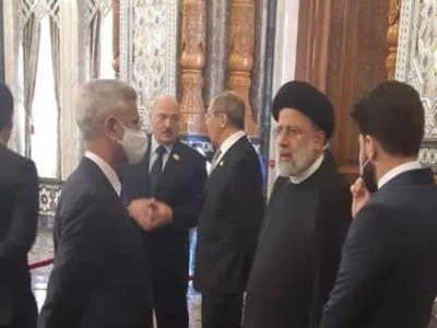 Jaishankar meets his counterparts from Iran, Armenia and Uzbekistan at SCO