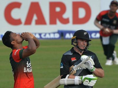 ٹی-20 کرکٹ میں بنگلہ دیشی گیندبازوں کا قہر، نیوزی لینڈ کو 7 وکٹوں سے ملی شکست