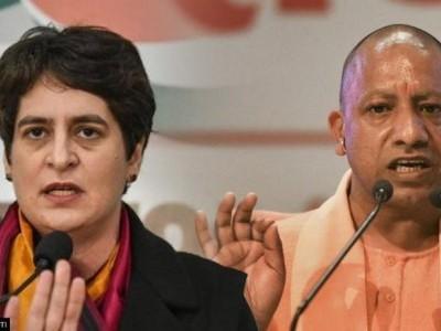 یوگی آدتیہ ناتھ نے گنائے 4.5 سال کے کام، اکھلیش یادو نے بتایا جھوٹ، پرینکا گاندھی نے کہا 'ناکام رہی حکومت'