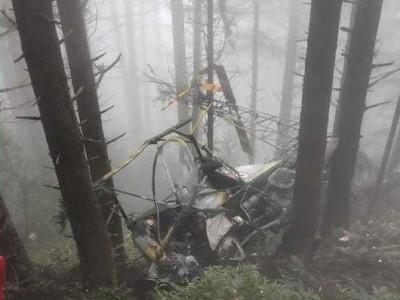 Army chopper goes down in Udhampur