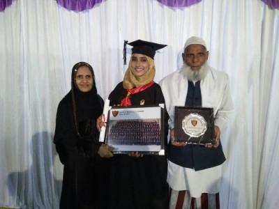 ممبئی کی معذور بہادر بیٹی روشن جواد نے ایم ڈی کے ساتھ ڈاکٹر بن کر ملک و قوم کا نام روشن کیا