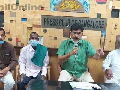 سرسی : جنگلاتی زمین حقوق کے سلسلے میں ریاستی حکومت کوئی ٹھوس فیصلہ کرے ۔ رویندرا نائک کا مطالبہ