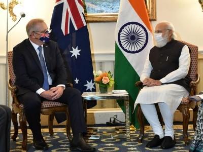 Morrison, Modi agree on low emissions tech partnership, ultra low cost solar programme