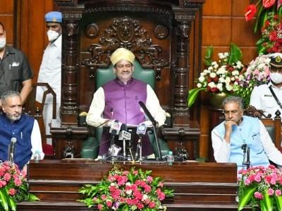 Karnataka Congress boycotts Lok Sabha Speaker's address to joint sitting of State Legislature