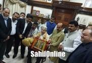 ಉಡುಪಿ: ಮಣೆಗಾರ್ ಮೀರಾನ್ ಸಾಹೇಬರಿಗೆ ರಾಜ್ಯೋತ್ಸವ ಪ್ರಶಸ್ತಿ ವಿತರಣೆ. ಸಿಎಂ ಬೊಮ್ಮಾಯಿ ಅವರಿಂದ ಗೌರವ.