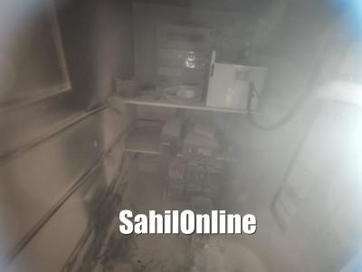 Bhatkal: Fire breaks out in karnataka Bank ATM kiosk