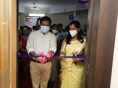 Infant Care Center Women's restroom and Nutritional food inaugurated in Karwar by Uttara Kannada Deputy Commissioner Mullai Muhilan