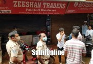 بھٹکل میں ایک ساتھ تین دکانوں اور ایک مکان میں چوری کی واردات؛ نقد رقم سمیت  زیورات پر بھی ہاتھ صاف